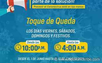 Ariguaní mantiene el toque de queda los fines de semana y reapertura eventos religiosos - Opinion Caribe