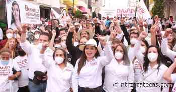 Respalda Calera a Gaby Pinedo y a la Cuarta Transformación - NTR Zacatecas .com