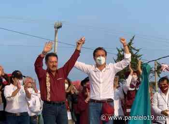 Cientos cierran campaña con Mier Bañuelos en Tecamachalco - Paralelo 19