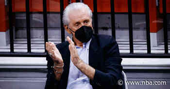 """Pat Riley: """"I'm Ready To Roll Forward And Try To Make This Team Better"""""""
