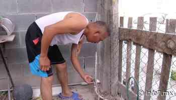 Imploran habitantes de Ciénega de Flores les reactiven servicio de agua - info7 - INFO7 Noticias