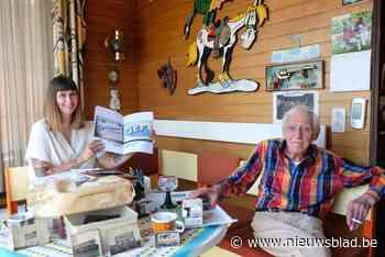 91-jarige letterschilder Jef is idool van Instagram-generati... (Merksem) - Het Nieuwsblad