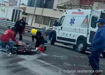 Muere motociclista en accidente sobre la vía Actopan-El Arenal - La Silla Rota