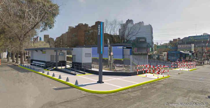 Trenes Argentinos comenzó los trabajos para renovar la estación Haedo de la Línea Sarmiento - Argentina.gob.ar Presidencia de la Nación