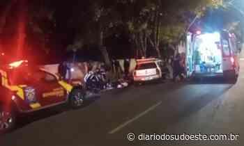 Motociclista morre após acidente em Pato Branco - Diário do Sudoeste
