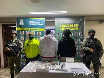"""Capturan a alias """"Mocho"""" y alias """"Arroyo"""", traficantes de droga en Itagüí - Itagüí Hoy"""