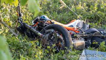Trostberg/Tacherting: schwerer unfall auf der st2091 am 1. Juni motorradfahrer schwer verletzt - mangfall24.de