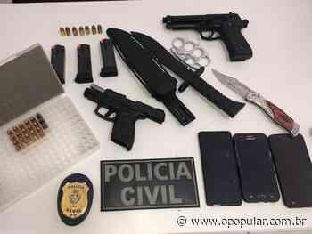 Investigação Após FBI compartilhar informações, polícia goiana desmonta possível ataque a escolas em Montividiu 02/06 - O Popular