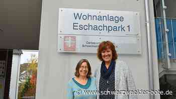 Eschachpark in Niedereschach - Stille Corona-Heldinnen engagieren sich - Schwarzwälder Bote