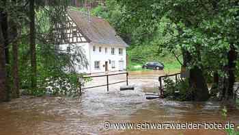 Starkregen ist Thema in Niedereschach - Ortsbaumeister wirbt für Profi-Lösung - Schwarzwälder Bote
