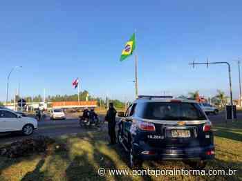 Polícia Militar de Ponta Porã prende foragido da Justiça no Jardim Panambi - Ponta Porã Informa - Notícias - Ponta Porã Informa
