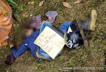 Disidencias de las Farc habrían asesinado a un hombre en zona rural de Ataco - Alerta Tolima
