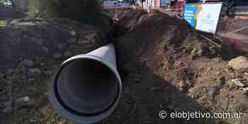 Colocarán un nuevo aliviador cloacal en barrio Ciudadela - El Objetivo