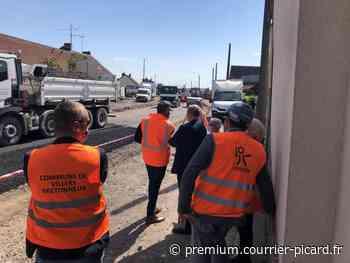 Encore un an de travaux pour la traversée de Villers-Bretonneux! - Courrier picard