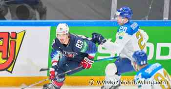 Arizona Coyotes at the World Championship: Liam Kirk scores twice - Five for Howling