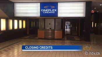 End Scene: Cineplex announces closure of Mount Pearl Cinema - ntv.ca - NTV News