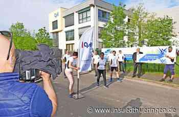 Individuell und trotzdem im Team - Startschuss für Firmenlauf in Langewiesen - inSüdthüringen
