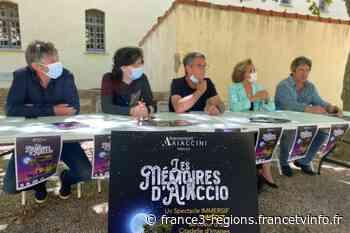 """""""Les mémoires d'Ajaccio"""", un spectacle immersif en son, images et lumières inédit dans la Citadelle - France 3 Régions"""