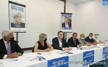 Territoriales : Jordan Bardella en soutien de François Filoni à Ajaccio - Corse Net Infos