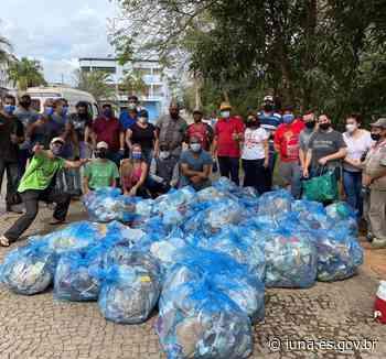 Noticia Mutirão de Limpeza às margens do Rio Pardo Prefeitura de Iúna através da Secretaria de - Prefeitura de Iúna