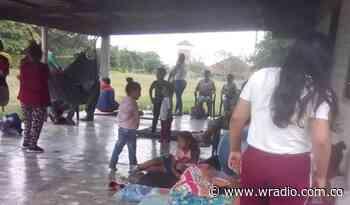 Fuertes combates generan desplazamientos en el norte del Cauca - W Radio