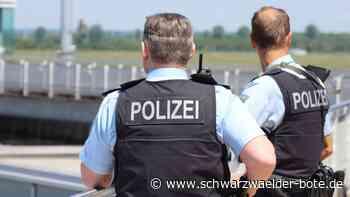Kontrolle an B 294 - Mehrere Bußgelder und Fahrverbote erwarten Verkehrssünder - Schwarzwälder Bote