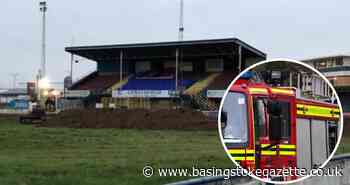 Firefighters extinguish 'deliberate' blaze at Camrose football stadium - Basingstoke Gazette