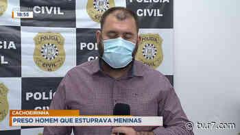Cachoeirinha: preso homem que estuprava meninas - R7.COM