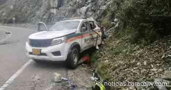 Atentan con explosivos contra patrulla de la Policía en Santa Fe de Antioquia - Noticias Caracol