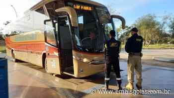 Motorista de ônibus com destino a Ceres é flagrado embriagado em rodoviária do DF - Mais Goiás