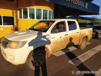Homem é preso em Paranavaí com caminhonete roubada em Ortigueira - G1