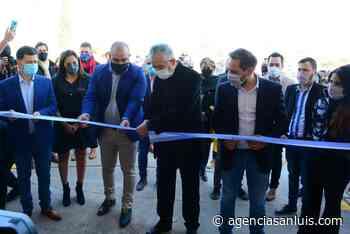 El gobernador inauguró en Villa Mercedes una Planta de Clasificación de Residuos Inorgánicos - Agencia de Noticias San Luis