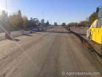Progresa la obra del nuevo acceso a la ciudad de Villa Mercedes por Avenida Mitre - Agencia de Noticias San Luis