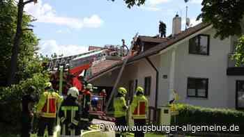 Schwelbrand in Einfamilienhaus in Bergheim - Augsburger Allgemeine