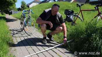 Radwege in Melle: Vielfahrer benennt Problemstellen – und eine gute Lösung - NOZ