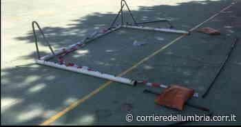 Gualdo Tadino, vandali nella notte danneggiano le strutture della Pro loco - Corriere dell'Umbria