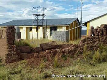 Exigen remodelación del puesto de salud de Chijchipani (Azángaro) - Pachamama radio 850 AM