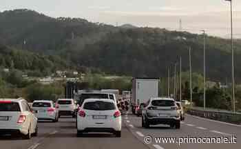 Autostrade, incidente tra Andora e Albenga: furgone si ribalta - Primocanale