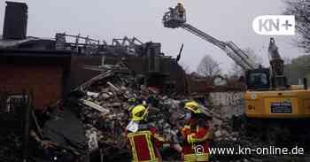 Landhaus in Kaltenkirchen: Das Feuer zerstörte Existenzen - Kieler Nachrichten