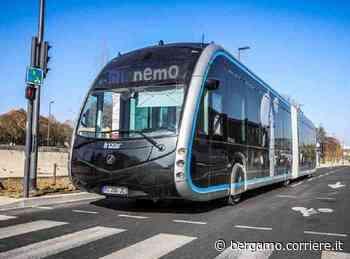 Bus elettrici Bergamo-Dalmine, la sfida è creare le preferenziali - Corriere Bergamo - Corriere della Sera