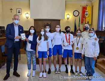 I ragazzi di Roller Civitanova premiati dall'amministrazione comunale di Civitanova Marche - Seven Press