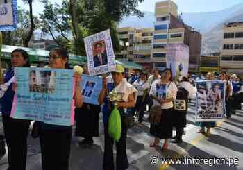 Huánuco: Familias reciben cuerpos de desaparecidos en periodo de violencia - INFOREGION