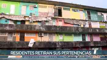 Residentes del edificio Capira retiran sus pertenencias - Telemetro