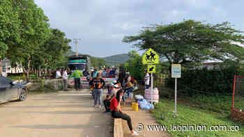 Siguen bloqueadas vías a Puerto Santander, El Zulia y al Catatumbo | Noticias de Norte de Santander, Colombia y el mundo - La Opinión Cúcuta