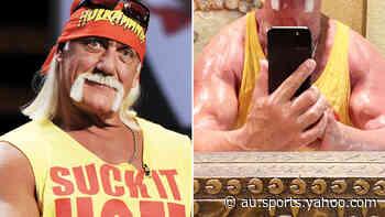 Hulk Hogan sends WWE fans into frenzy with post-workout photo - Yahoo Sport Australia