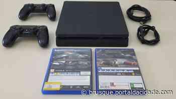 Polícia Civil recupera em Navegantes videogame furtado em Brusque - ®Portal da Cidade | Brusque