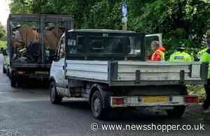 Road stops crack down on illegal waste carriers in Bexley - News Shopper