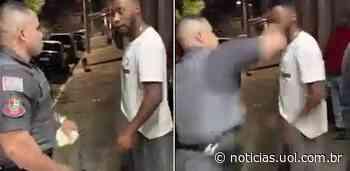 Jovem é agredido com soco durante abordagem da PM em Caieiras (SP); vídeo - UOL Notícias
