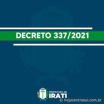 Novo decreto de Irati define medidas entre os dias 02 e 16/06 | Hoje Centro Sul - Hoje Centro Sul
