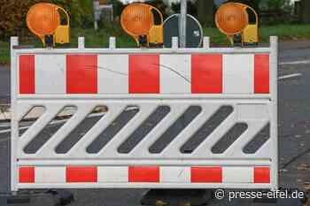 Zweimonatige Vollsperrung zwischen Schleiden-Dreiborn und Herhahn - Presse-Eifel - Presse-Eifel